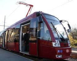 Новые низкопольные трамваи